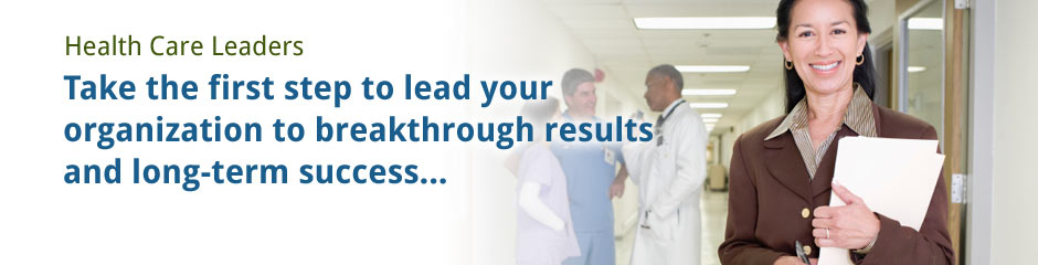 Image for For Health care Leaders