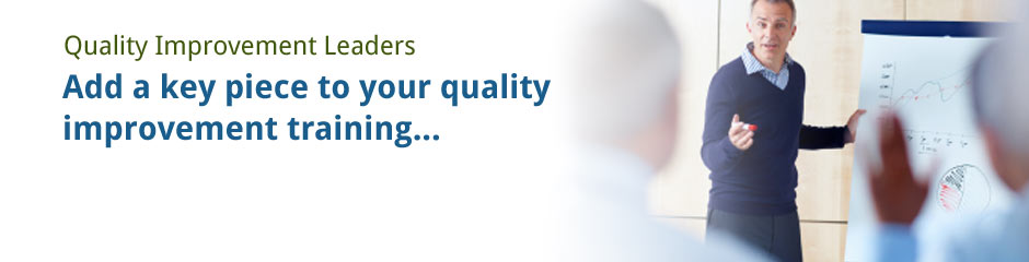 Image for For Quality Improvement Leaders
